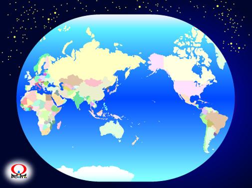 世界地図から行きたい国で ... : 世界図 : すべての講義