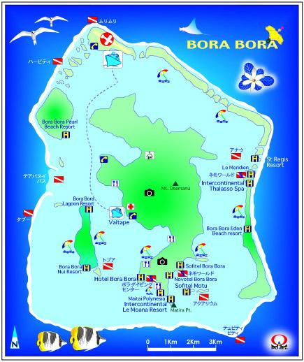 タヒチ旅行専門店レックスツアーズのボラボラ島 120%満足するタヒチ旅行の作り方